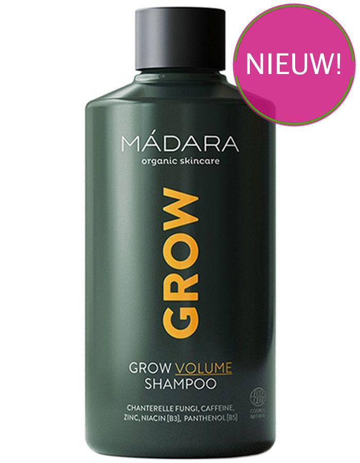 Mádara Grow Volume Shampoo Met Caffeine 250ml
