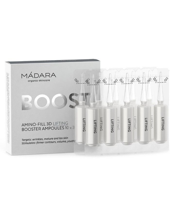 Mádara Boost Amino Fill 3D Lifting Booster Ampullen 10x3ml