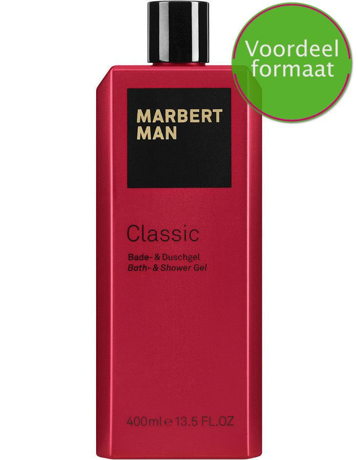 Marbert Man Classic Bath En Showergel Voordeelformaat 400ml