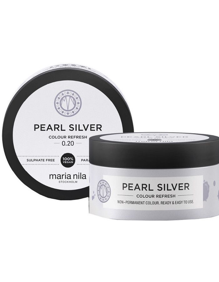 Maria Nila Colour Refresh Haarmasker 0.20 Pearl Silver 100ml