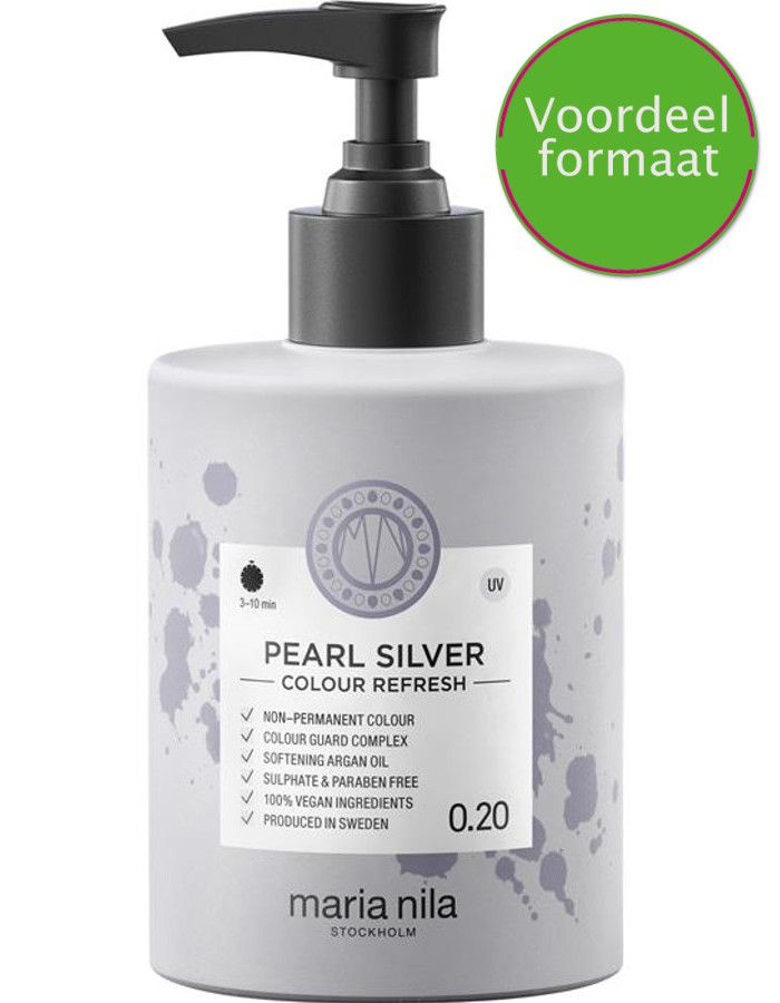 Maria Nila Colour Refresh Haarmasker 0.20 Pearl Silver 300ml