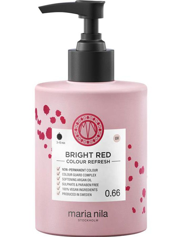 Maria Nila Colour Refresh Haarmasker 0.66 Bright Red 300ml