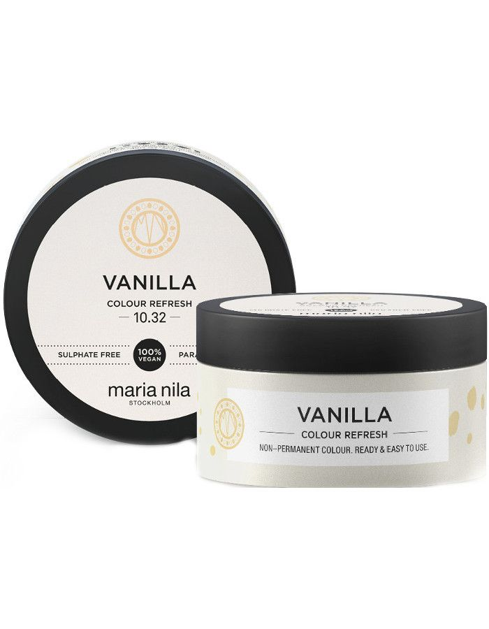 Maria Nila Colour Refresh Haarmasker 10.32 Vanilla Blond 100ml