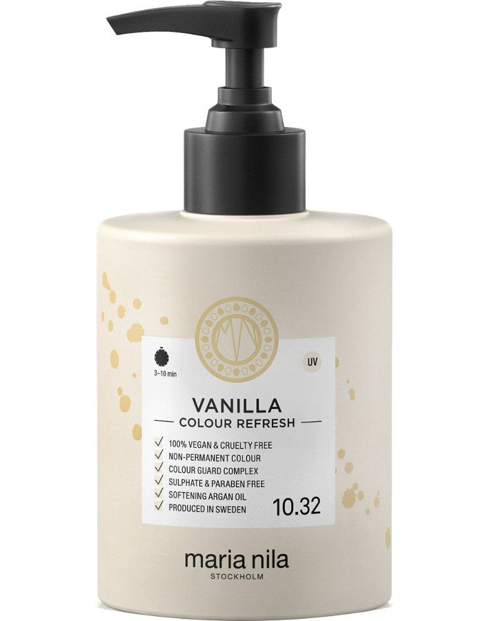 Maria Nila Colour Refresh Haarmasker 10.32 Vanilla Blond 300ml