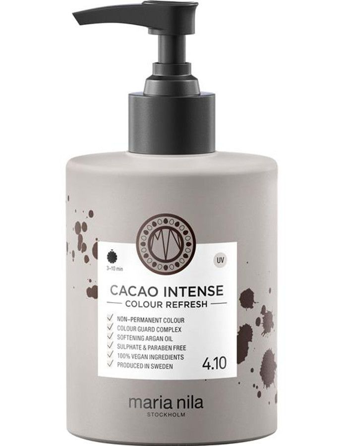 Maria Nila Colour Refresh Haarmasker 4.10 Cacao Intense 300ml