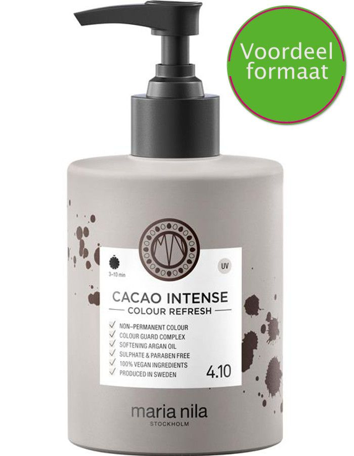 Maria Nila Colour Refresh Haarmasker 4.30 Cacao Intense 300ml