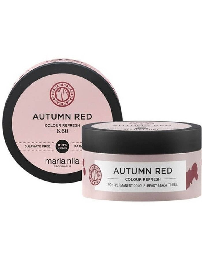 Maria Nila Colour Refresh Haarmasker 6.60 Autumn Red 100ml