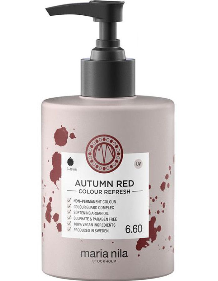 Maria Nila Colour Refresh Haarmasker 6.60 Autumn Red 300ml