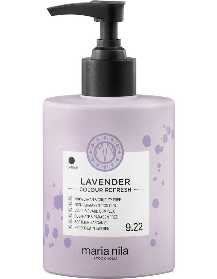 Maria Nila Colour Refresh Haarmasker 9.22 Lavender 300ml