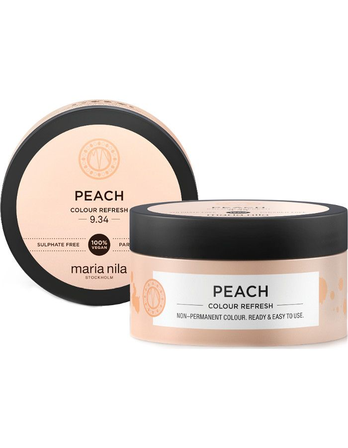 Maria Nila Colour Refresh Haarmasker 9.34 Peach 100ml