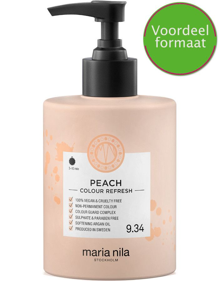 Maria Nila Colour Refresh Haarmasker 9.34 Peach 300ml