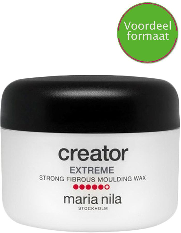 Maria Nila Creator Extreme Strong Fibrous Moulding Wax Voordeelformaat 100ml