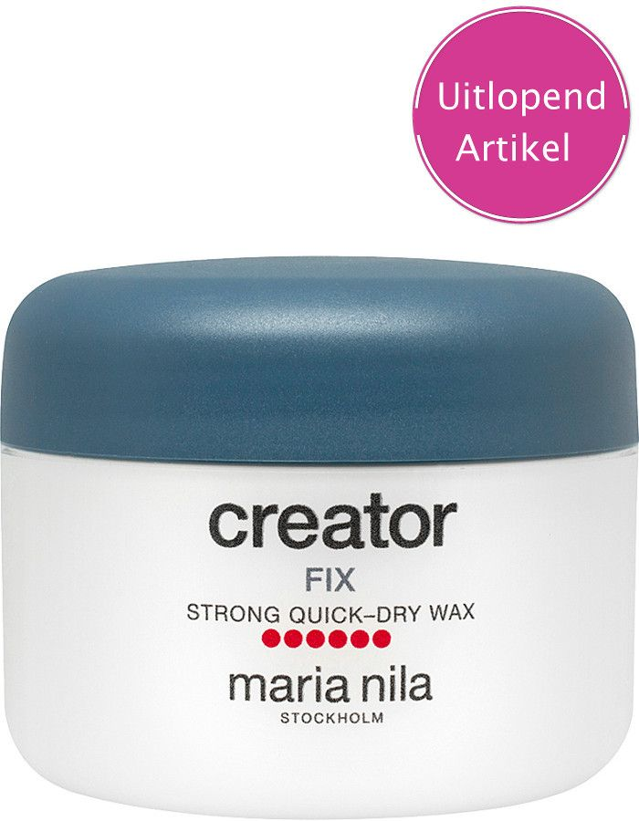 Maria Nila Creator Fix Strong Quick Dry Wax Voordeelformaat 100ml