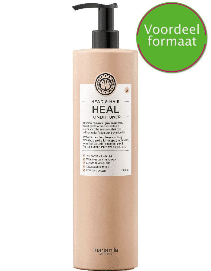 Maria Nila Head En Hair Heal Conditioner Met Vitamine E Voordeelverpakking 1000ml