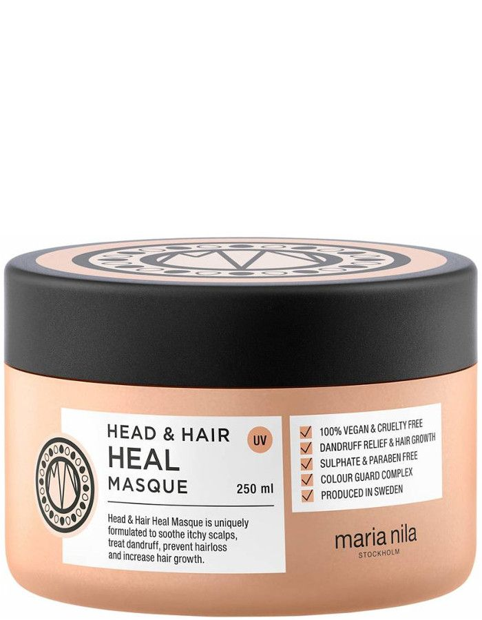 Maria Nila Head En Hair Heal Haarmasker Met Vitamine E 250ml