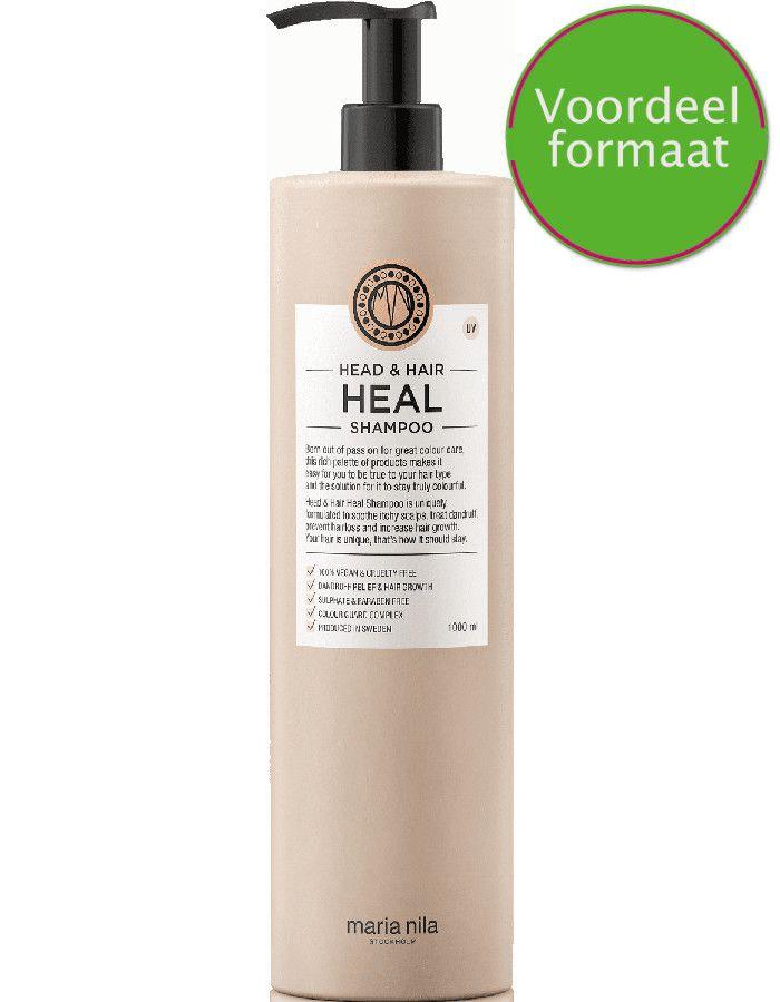 Maria Nila Head En Hair Heal Shampoo Met Vitamine E Voordeelverpakking 1000ml