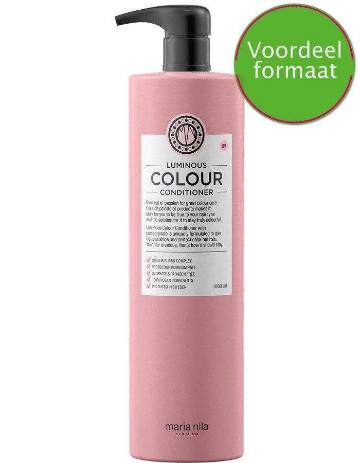 Maria Nila Luminous Colour Conditioner Voordeelformaat 1000ml