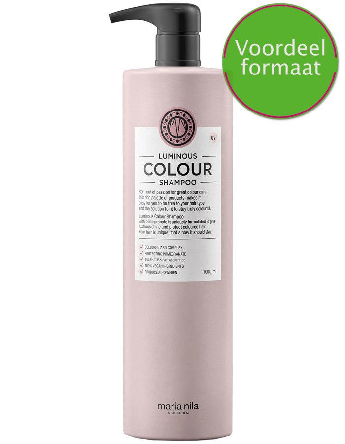 Maria Nila Luminous Colour Shampoo Voordeelformaat 1000ml