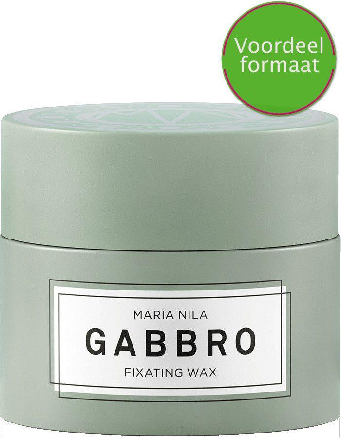 Maria Nila Minerals Gabbro Fixating Wax Voordeelformaat 100ml