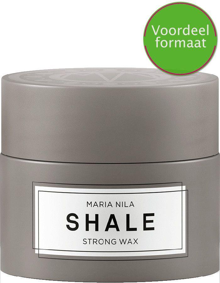 Maria Nila Minerals Shale Strong Wax Voordeelformaat 100ml