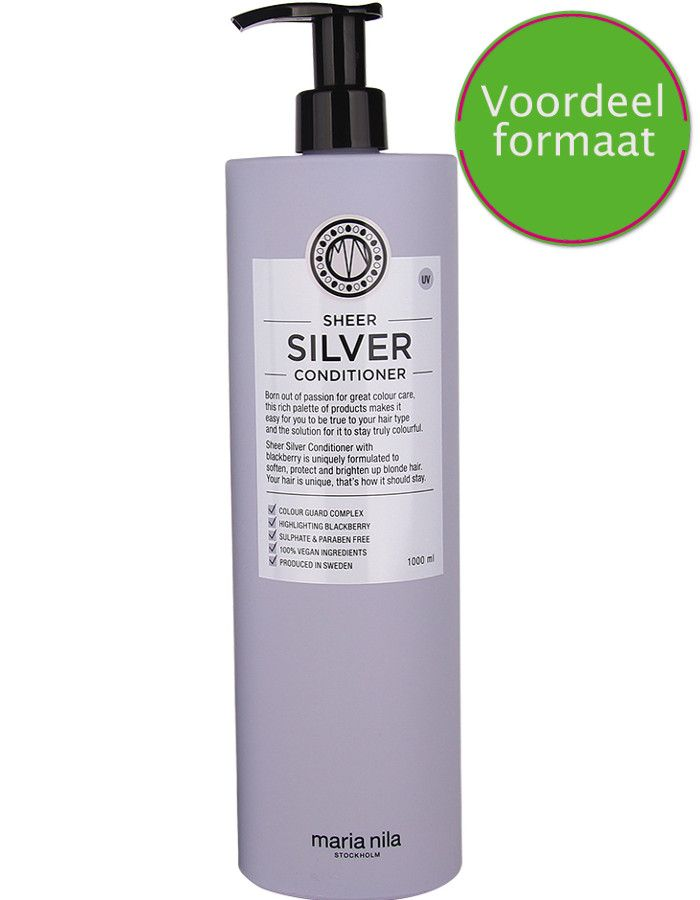 Maria Nila Sheer Silver Conditioner Voordeelformaat 1000ml