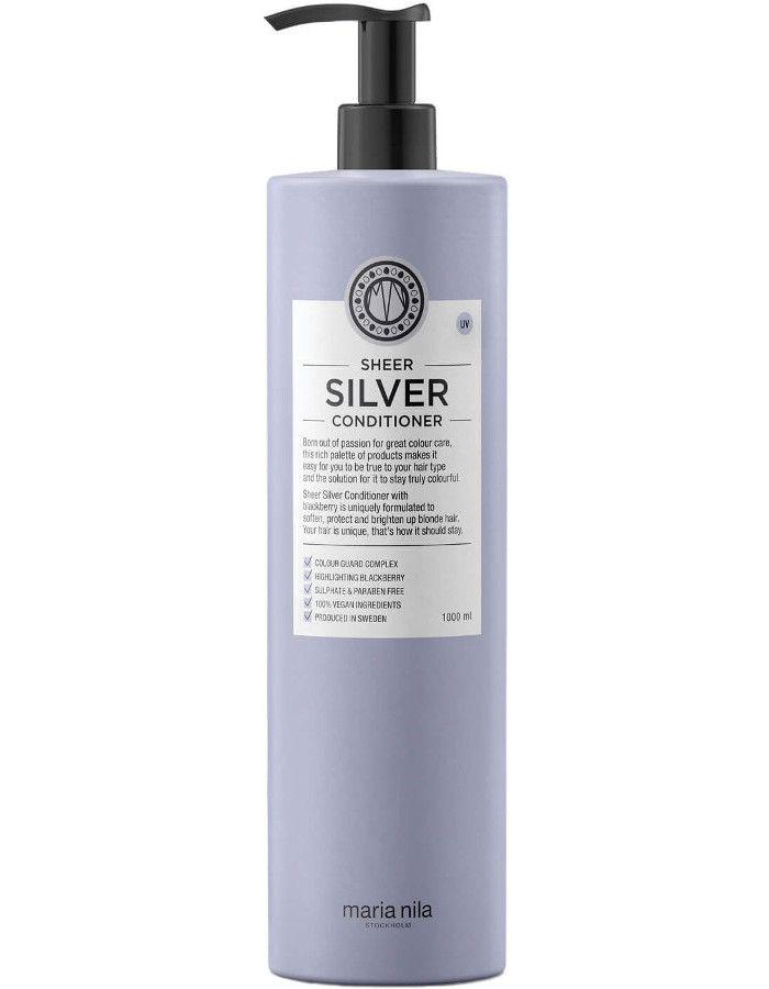 Maria Nila Sheer Silver Conditioner Voordeelformaat 1000ml