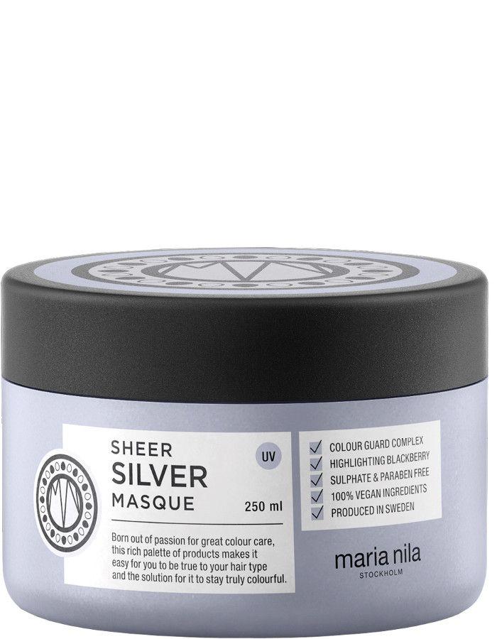 Maria Nila Sheer Silver Haarmasker 250ml
