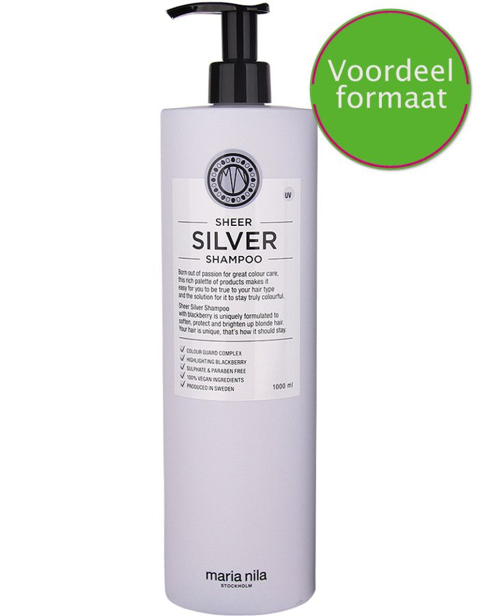 Maria Nila Sheer Silver Shampoo Voordeelformaat 1000ml