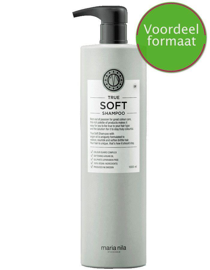 Maria Nila True Soft Shampoo Met Arganolie Voordeelformaat 1000ml