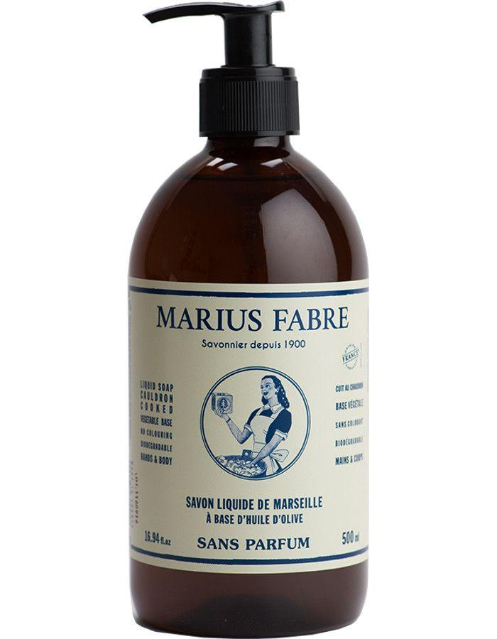 Marius Fabre Nature Vloeibare Zeep Ongeparfumeerd 500ml
