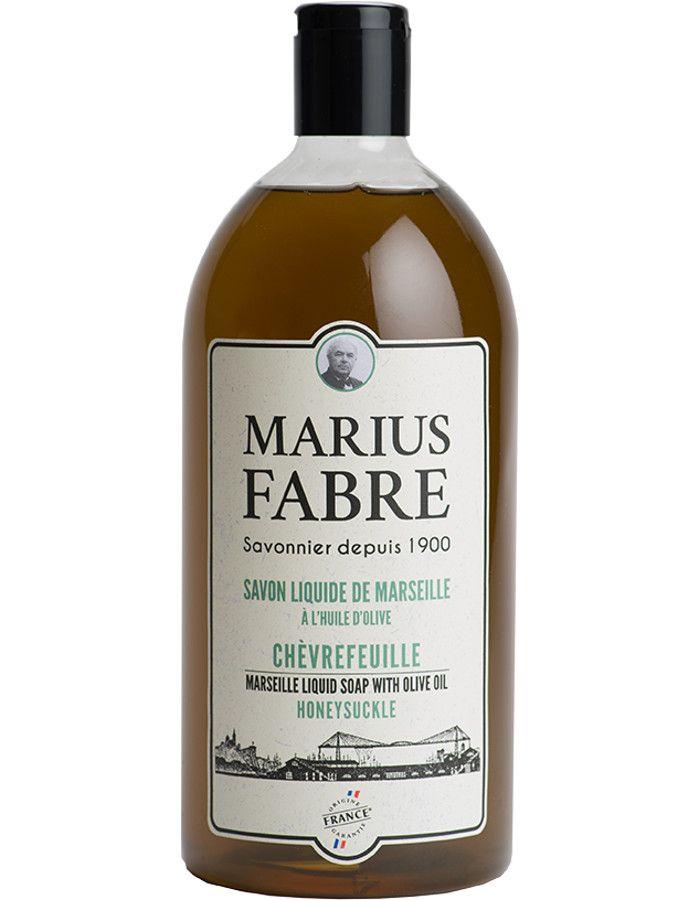 Marius Fabre Vloeibare Zeep Honeysuckle Navulling 1000ml