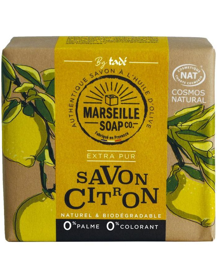Marseille Soap Company Olive Soap Extra Pur Lemon 100gr