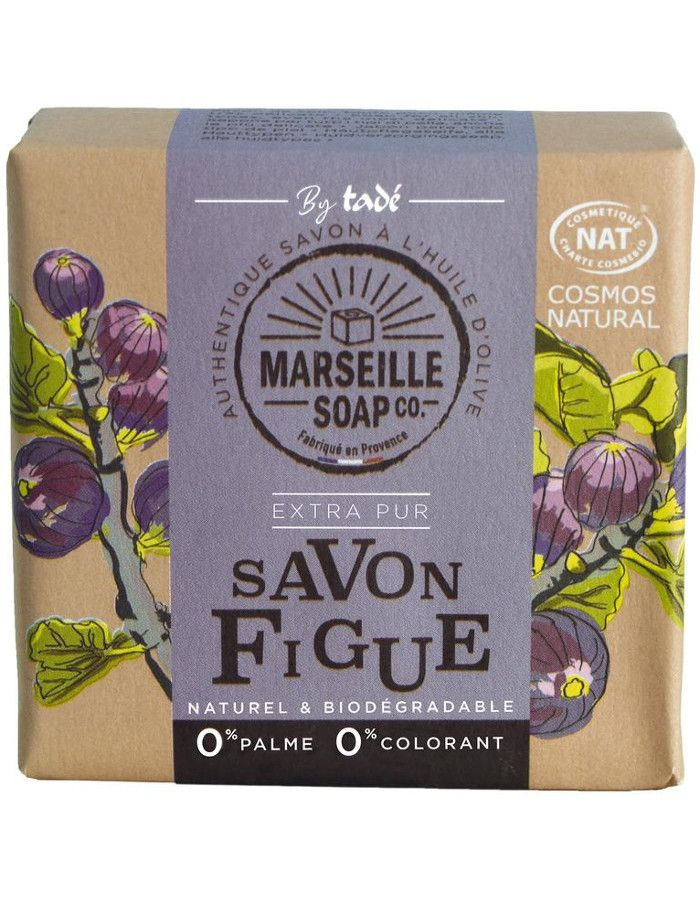 Marseille Soap Company Olive Soap Extra Pur Fig 100gr