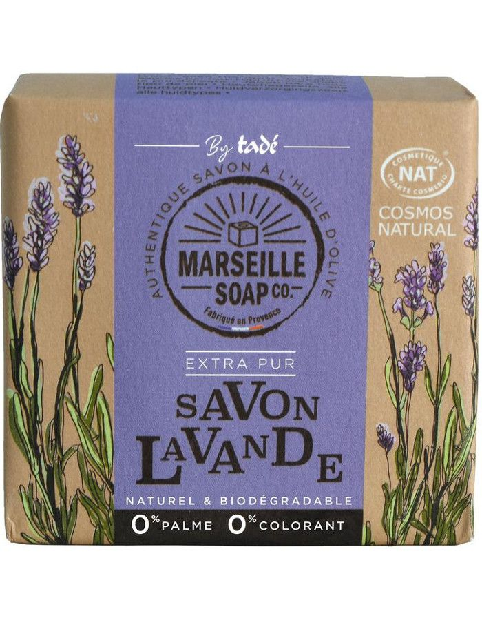 Marseille Soap Company Olive Soap Extra Pur Lavender 100gr