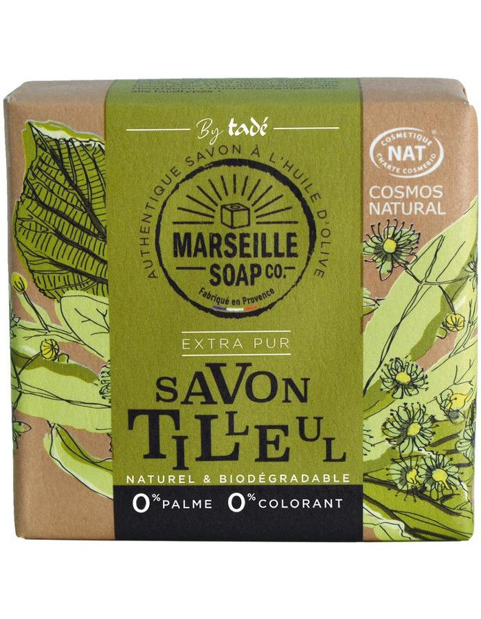 Marseille Soap Company Olive Soap Extra Pur Linden Blossom 100gr