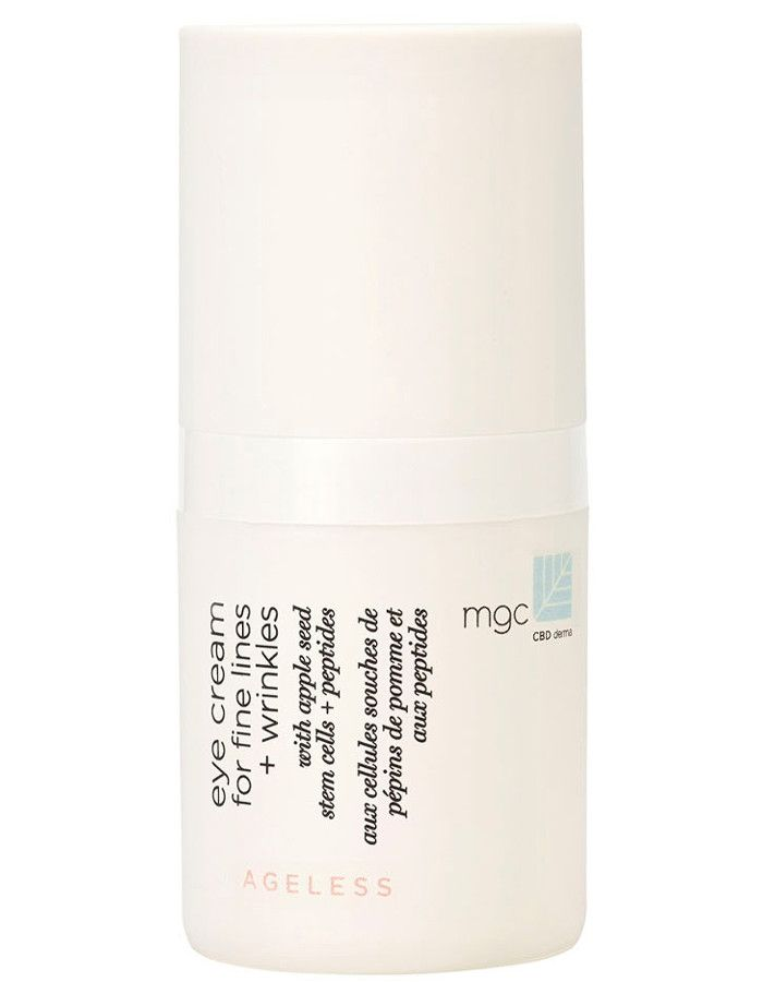 MGC CBD Derma Ageless Eye Cream For Fine Lines & Wrinkles 15ml