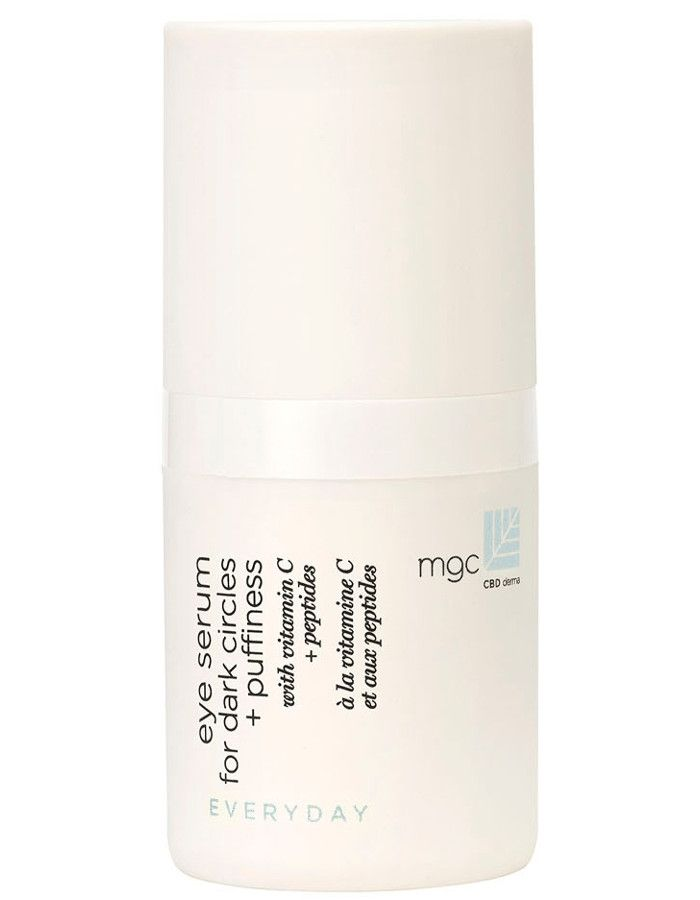 MGC CBD Derma Everyday Eye Serum For Dark Circles & Puffiness 15ml