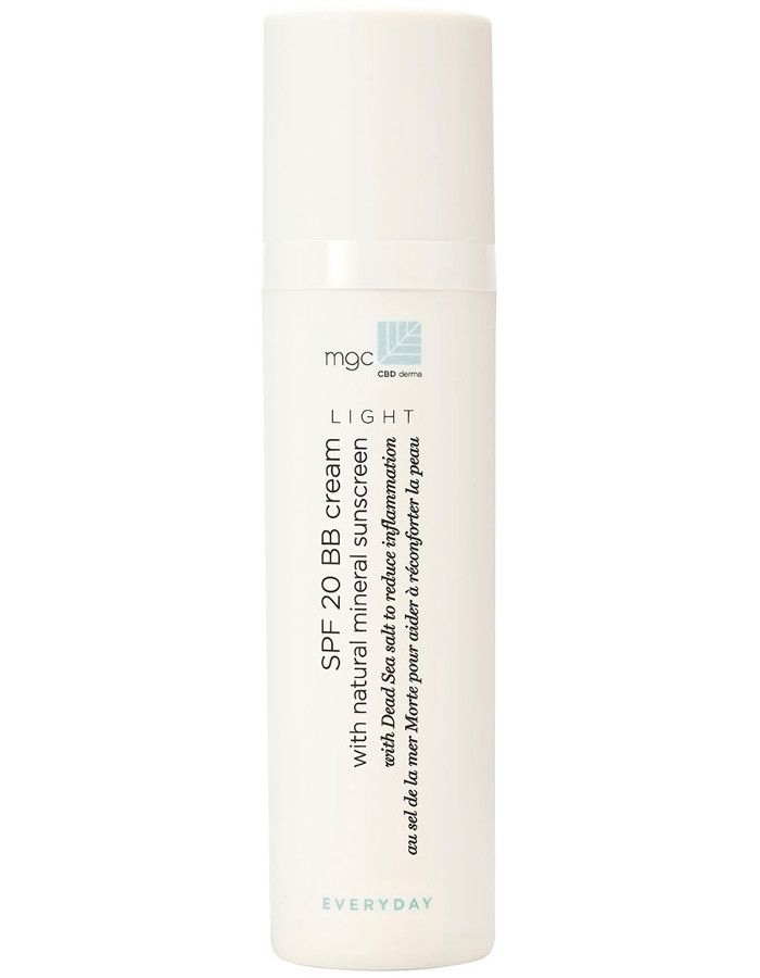 MGC CBD Derma Everyday Spf20 BB Cream Mineral Sunscreen 50ml