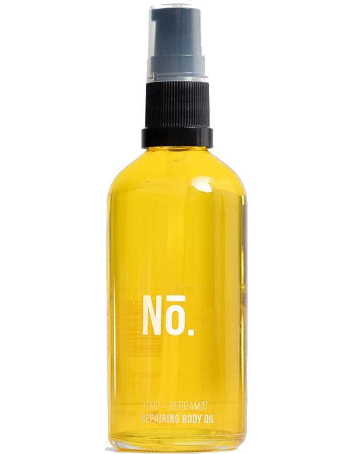 Nō. Skincare Hemp + Bergamot Repairing Body Oil 100ml