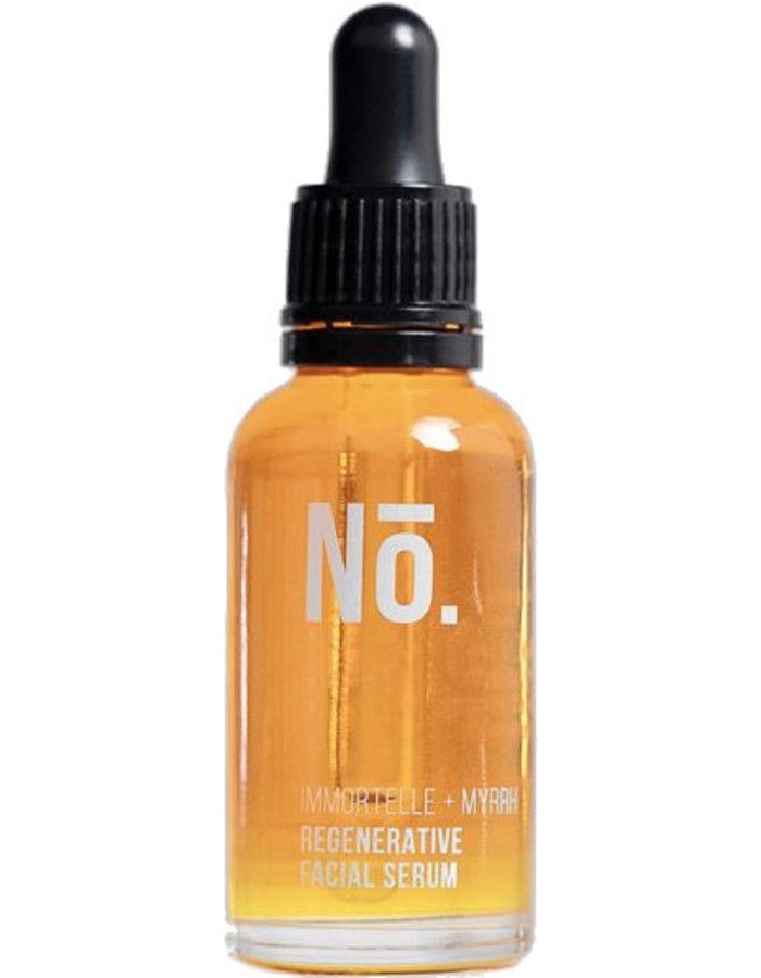 Nō. Skincare Immortelle + Myrrh Regenerative Facial Serum 30ml