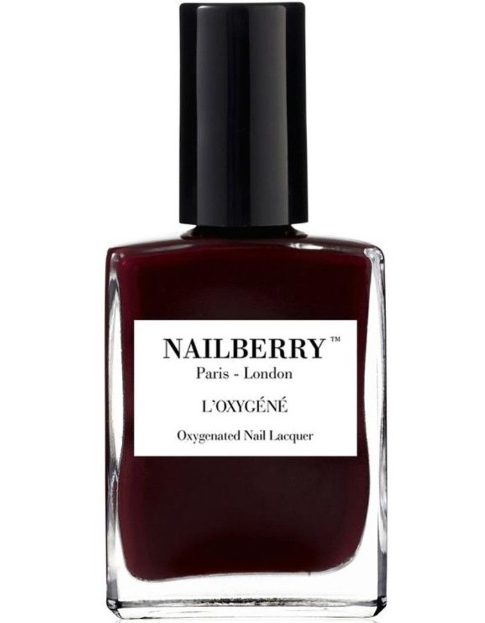 Nailberry 12-Free L'Oxigéné Nagellak Noirberry 15ml