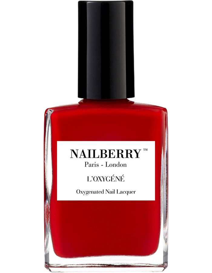 Nailberry 12-Free L'Oxigéné Nagellak Rouge 15ml