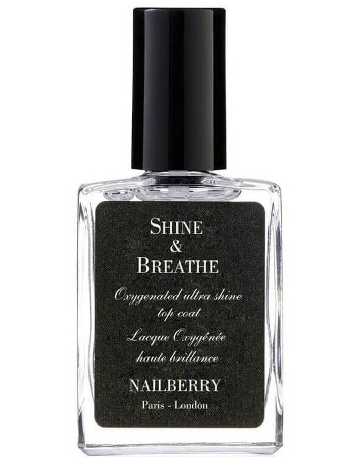 Nailberry 12-Free Shine & Breathe Top Coat 15ml