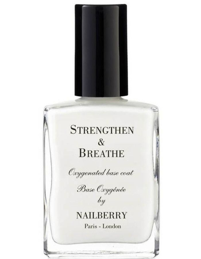 Nailberry 12-Free Strengthen & Breathe Base Coat 15ml