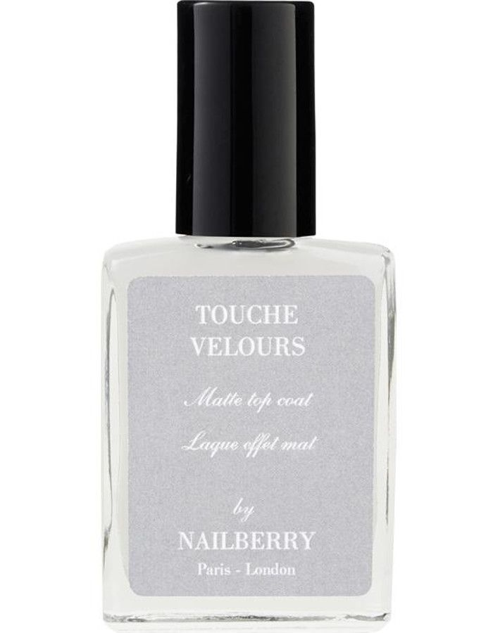 Nailberry 12-Free Touche Velours Matte Top Coat 15ml