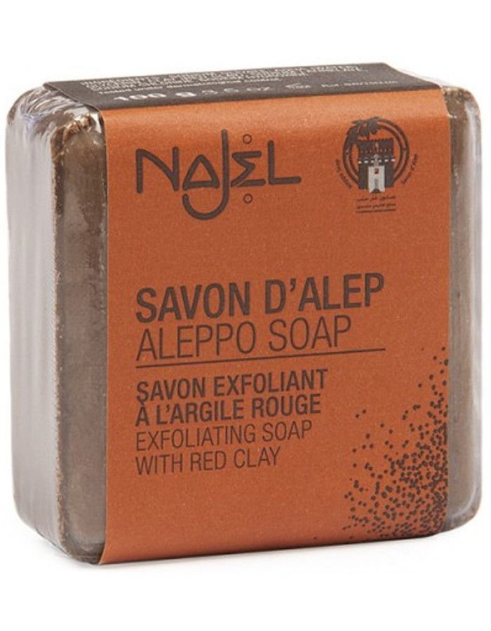 Najel Aleppo Scrubzeep Red Clay 100gr
