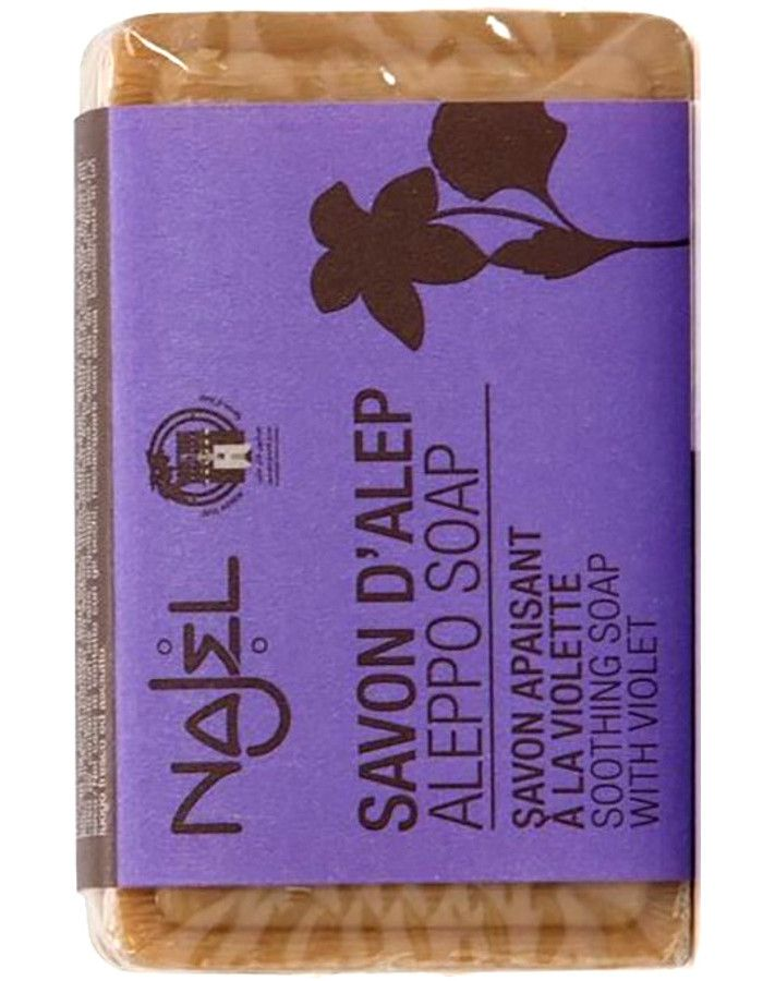 Najel Aleppo Soothing Kruidenzeep Organic Violet 100gr