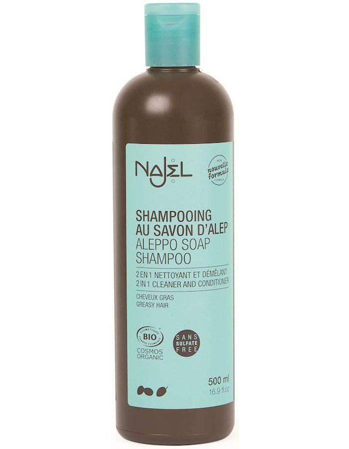 Najel Aleppo Zeep 2 In 1 Shampoo Vet Haar 500ml