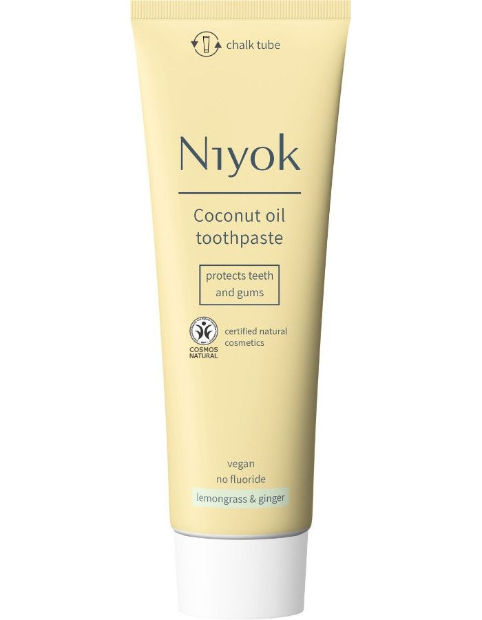 Niyok Coconut Oil Toothpaste Lemongrass & Ginger 75ml