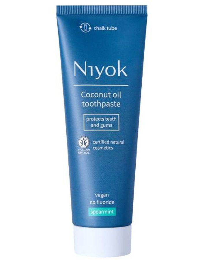 Niyok Coconut Oil Toothpaste Spearmint 75ml